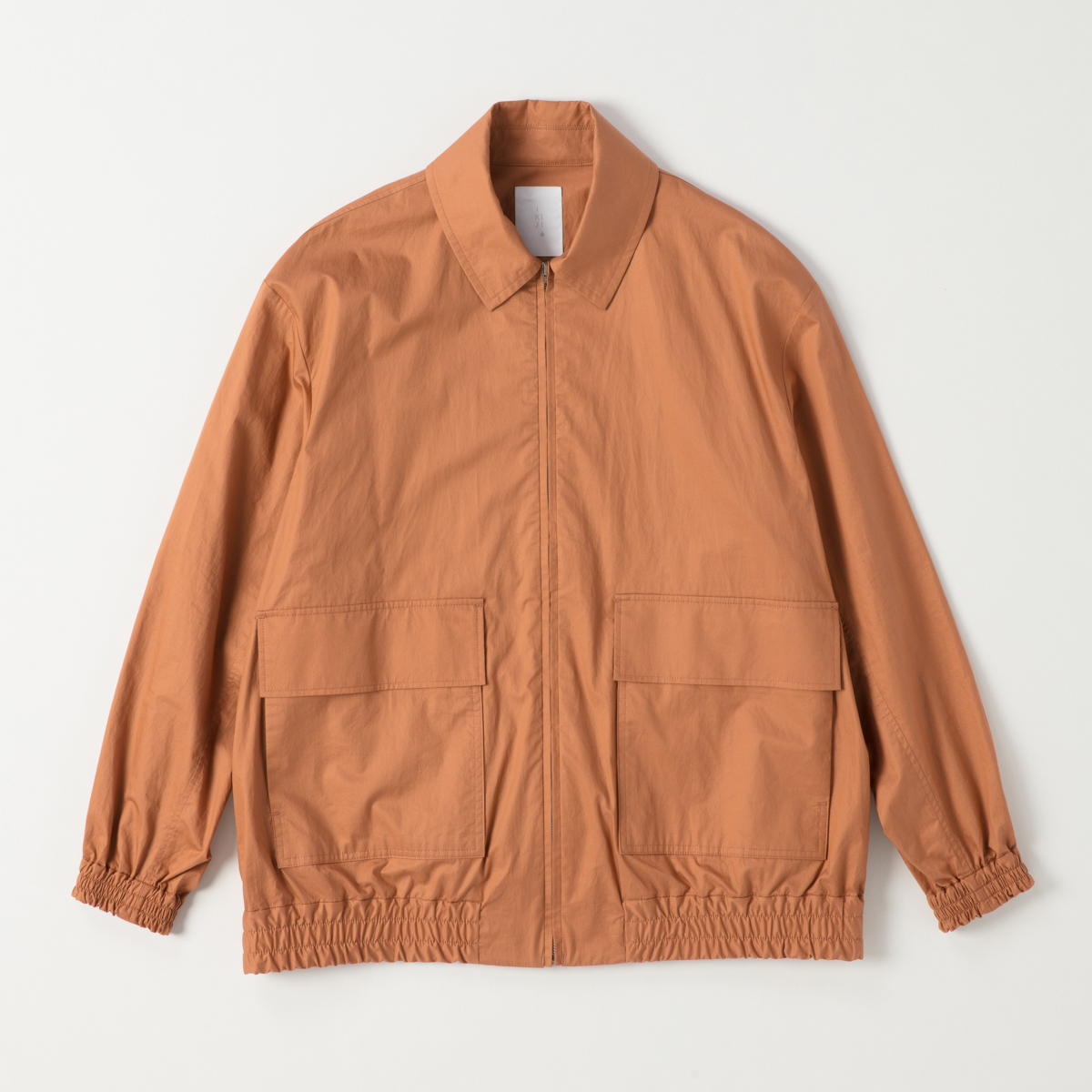 IKIJI - Cotton Typewriter Windblouson